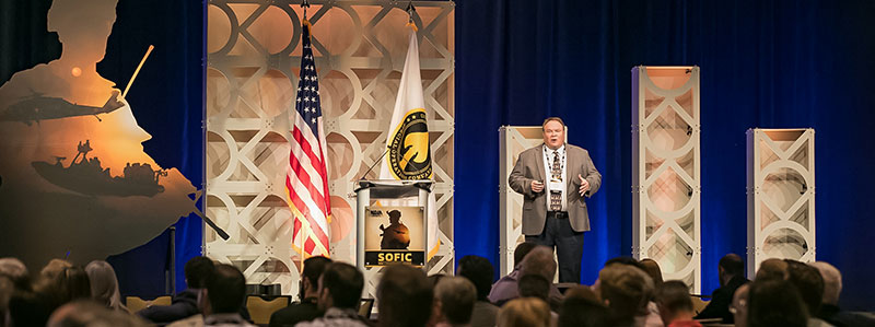 2018 SOFIC general session speaker