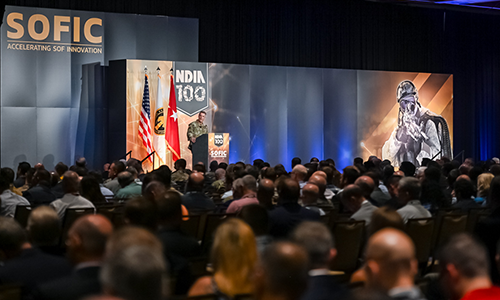 2019 SOFIC general session speaker and audience attendees